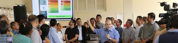 Fortaleza ganha ferramenta para avaliação de postos de saúde (editar título)