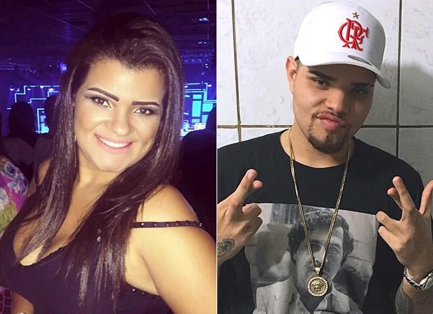 Ex-mulher do cantor Naldo, Branka Silva e o filho, Pablo Jorge (Foto: Reprodução/ Instagram)