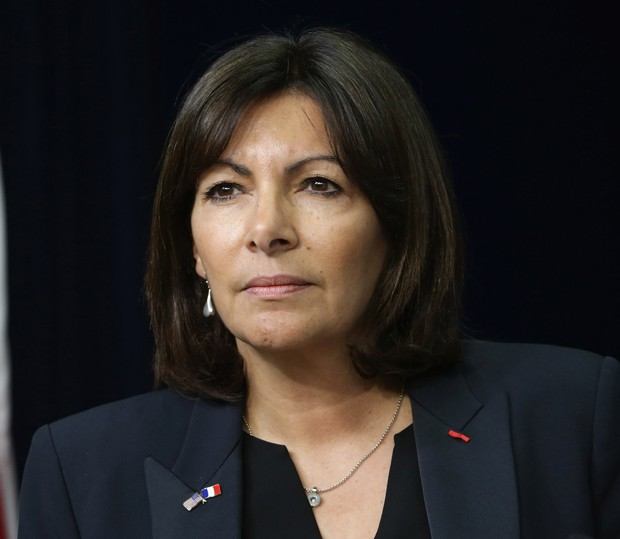 A prefeita de Paris, Anne Hidalgo (Foto: Getty Images)
