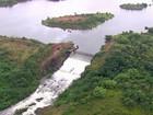 Chuva faz dobrar o nível da barragem de Botafogo, em Igarassu, PE