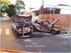 Acidente em cruzamento de Bauru deixa dois feridos