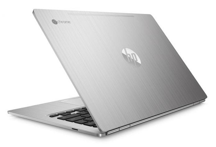 Chromebook da HP tem acabamento metálico e se volta para consumidores mais exigentes (Foto: Divulgação/HP)