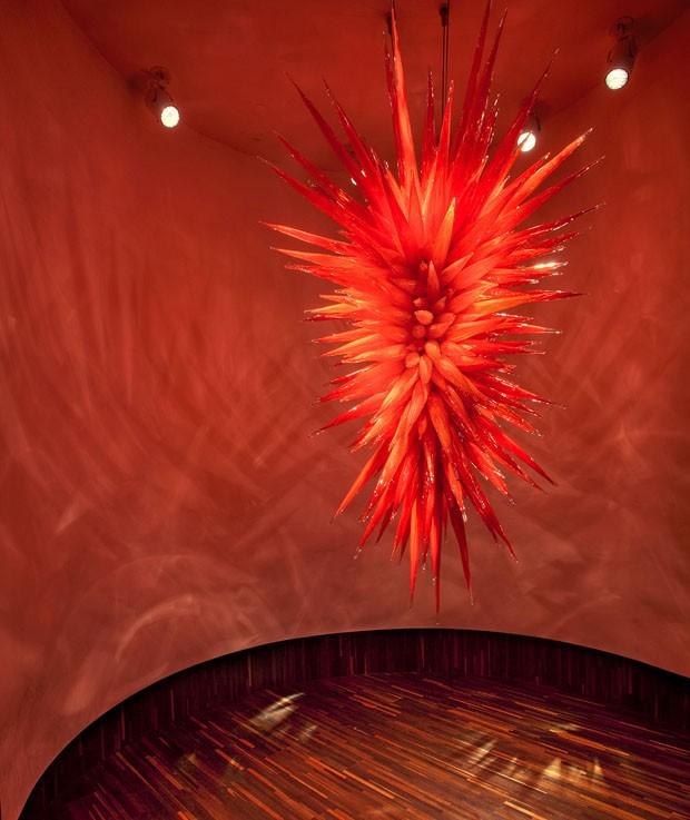 Uma galeria dedicada à beleza do vidro