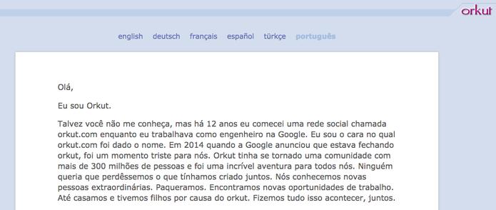 O criador Orkut lança carta emocionada para apresentar a Hello (Foto: Reprodução/Felipe Vinha)