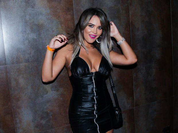 Geisy Arruda em show em São Paulo (Foto: Manuela Scarpa/ Brazil News)