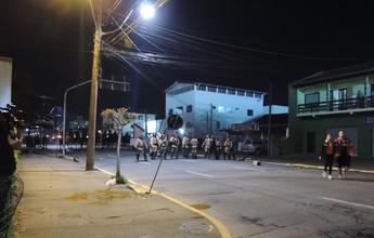 Briga entre torcedores de JEC e Timão e PM deixa pelo menos dois feridos