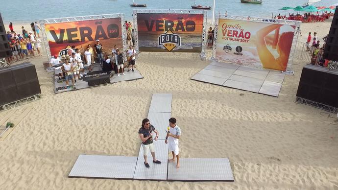 Rota Inter TV de verão (Foto: Alexandre Gomes)