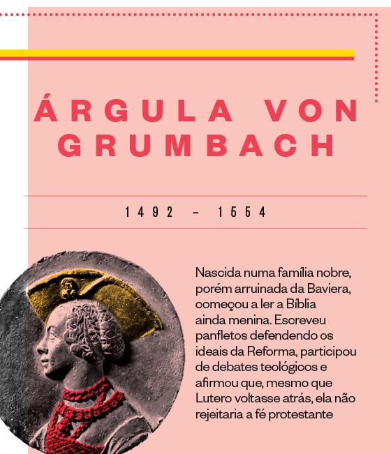 Ficha: Argula Von Grumbach (Foto: Época)