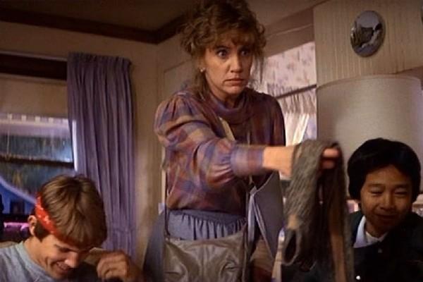 A atriz Mary Ellen Treinor em 'Os Goonies' (Foto: Reprodução)