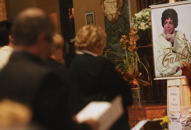 Missa de Cauby Peixoto (Foto: Iwi Onodera / EGO)