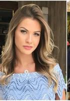 Andressa Suita fica mais loira e mostra novo visual na web: 'Resolvi mudar'