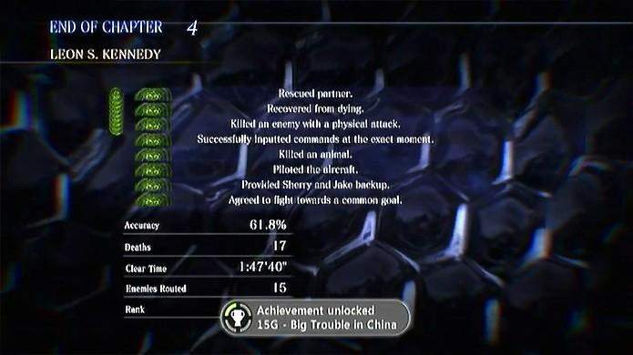 Leon não teve ajuda da magia de camponês do filme em Resident Evil 6 (Foto: Reprodução/YouTube)