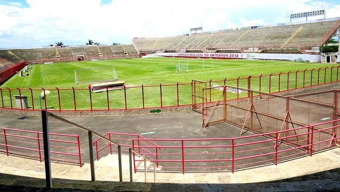 Vail Chaves Estádio Mogi Mirim Sapo  (Foto: Marcelo Gotti / Mogi Mirim EC)