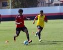 Sem lesão, Magno Cruz continua tratamento para enfrentar o Vasco