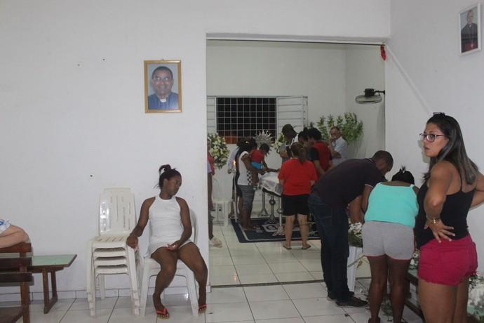 Velório de Valter Maranhão (Foto: Francisco Filho)