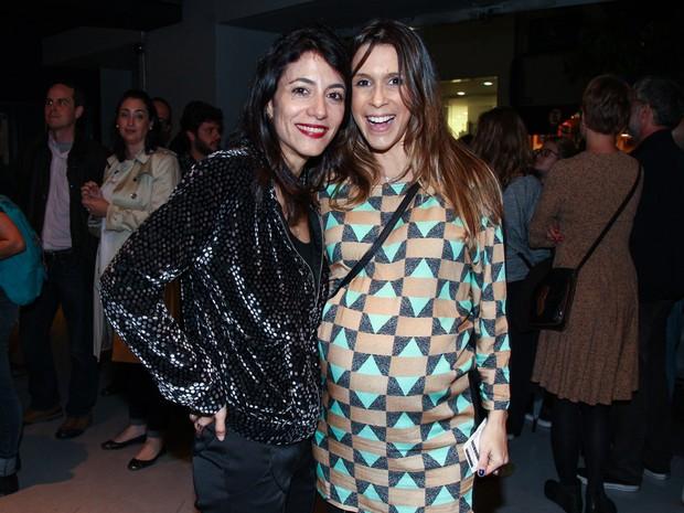 Marina Person e Sarah Oliveira em pré-estreia de filme em São Paulo (Foto: Manuela Scarpa/ Brazil News)