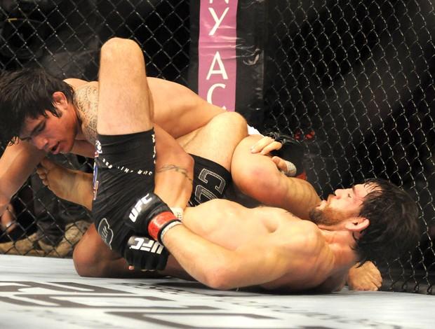 Jon Fitch e Erick Silva, UFC RIO III  (Foto: André Durão / Globoesporte.com)