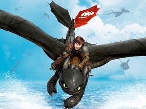 'Como treinar o seu dragão 2' estreia (Foto: Divulgação)