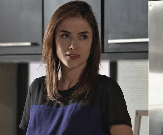 Margot acaba dando um conselho valioso a Ximena (Foto: TV Globo)