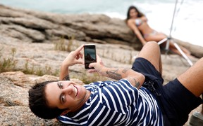 Andressa Ferreira posando para o EGO (Foto: Marcos Serra Lima/EGO)
