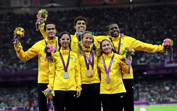Pódio, Atletismo, Paralimpiadas, Terezinha (Foto: Patrícia Santos / CPB)