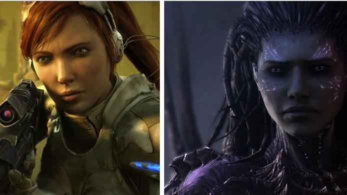 Traída por Mengsk e modificada pelos Zergs, a poderosa Sarah Kerrigan é uma protagonista poderosa, mas com muitos conflitos internos (Foto: Divulgação/Blizzard)