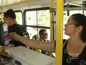 Passageiros em São Luís continuam com dúvidas sobre Bilhete Único (Foto: Reprodução/TV Mirante)