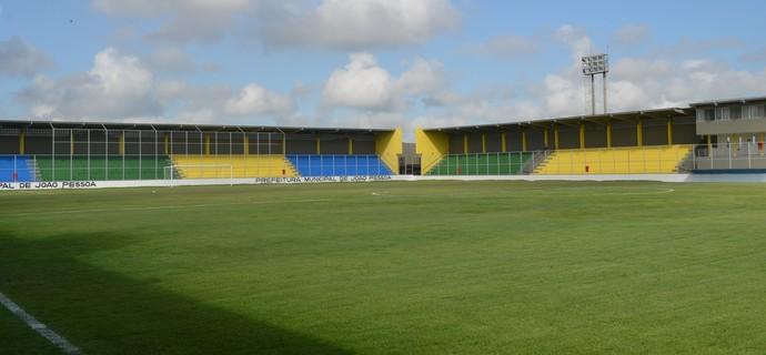 estádio da graça, graça joão pessoa,  (Foto: Lucas Barros / GloboEsporte.com/pb)