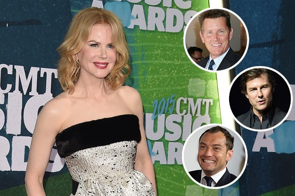 Nicole Kidman, Tom Burlinson, Tom Cruise e Jude Law (Foto: Getty Images)