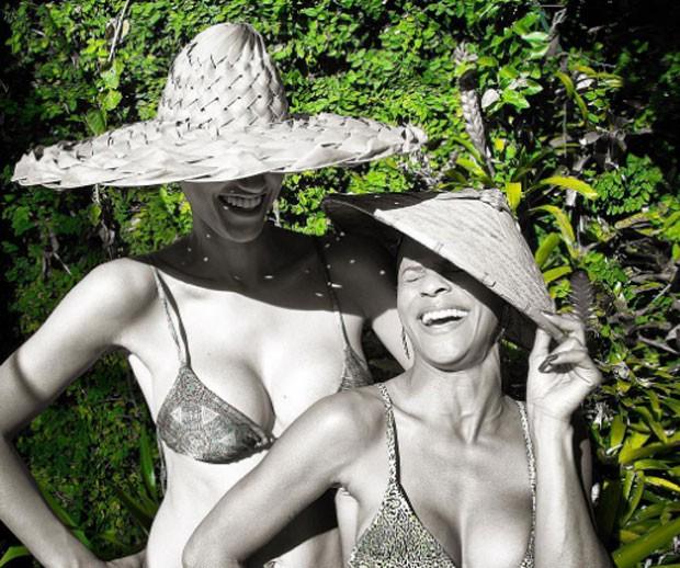 Debora Nascimento e Aline Wirley (Foto: Reprodução)