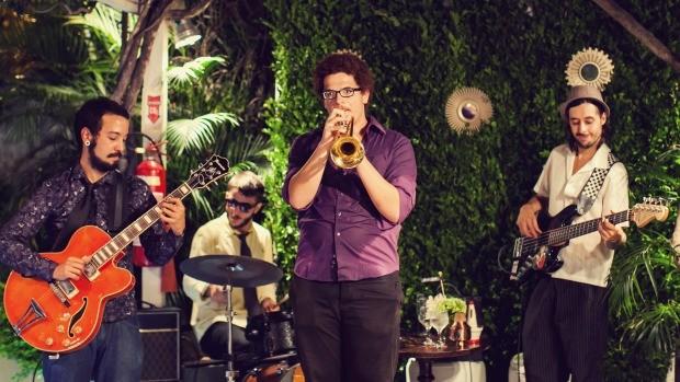 Quarteto do Rua Jazz agita a programação no dia  (Foto: Divulgação/ Dueto Fotografia)