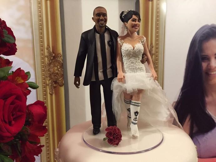 Airton casou-se com Roberta na noite desta sexta-feira (Foto: Felippe Costa)