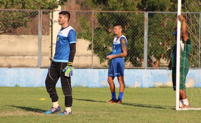 Alex Alves goleiro Altos (Foto: Joana D'arc Cardoso)
