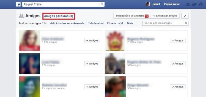 Unfriend Notify para Facebook avisa quando alguém te exclui da rede social (Foto: Reprodução/Raquel Freire)