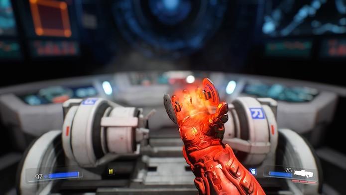 Doom: como melhorar armas e equipamentos no FPS (Foto: Reprodução/Victor Teixeira)