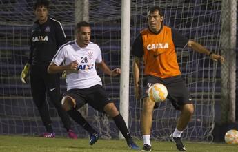 Renato Augusto passa em teste no treino e vai enfrentar o Danubio