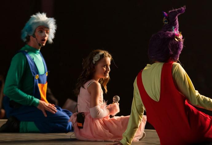 A história do show da Rafa mostrou como as amizades são importantes (Foto: Eduardo Alexandre/CWB)