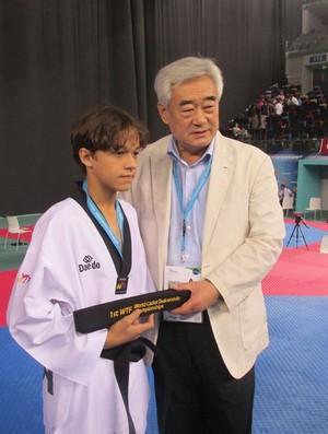 Nathan Torquato taekwondo (Foto: Nathan Torquato / Arquivo Pessoal)