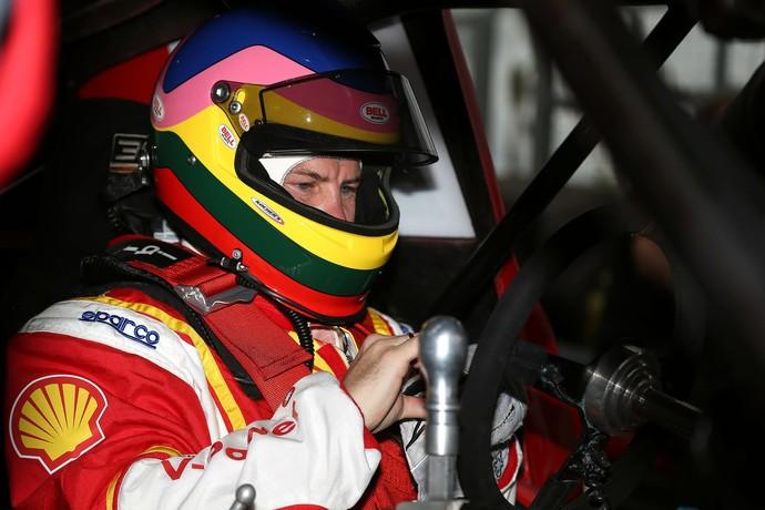 Jacques Villeneuve no carro da A.Mattheis, que dividirá com Ricardo Zonta (Foto: Rafael Gagliano / Divulgação)