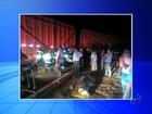 Motorista fica gravemente ferido após acidente com bitrem em Mira Estrela