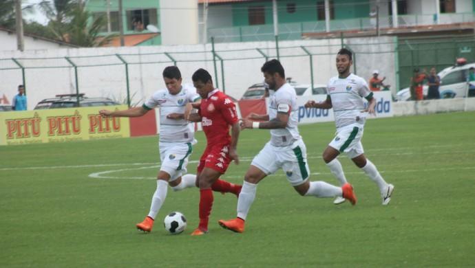 Coruripe x América-RN Copa do Nordeste (Foto: Canindé Pereira/América FC/ Divulgação)