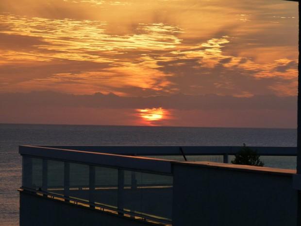 Sol deve aparecer no final de semana dos catarinenses (Foto: Carolina Lopes/G1)