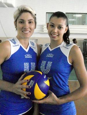 Natasha e carol vôlei Rio de Janeiro (Foto: Divulgação)