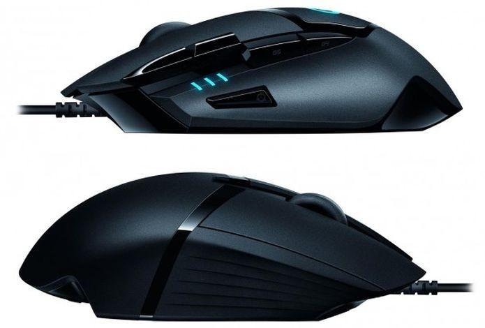 Visão lateral do G402 Hyperion Fury  Ultra-Fast FPS Gaming Mouse (Foto: Divulgação)