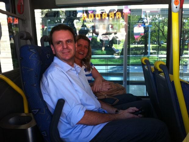 BRT (Foto: Janaína Carvalho/G1)