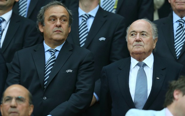 Michel Platini Joseph Blatter (Foto: Getty Images)
