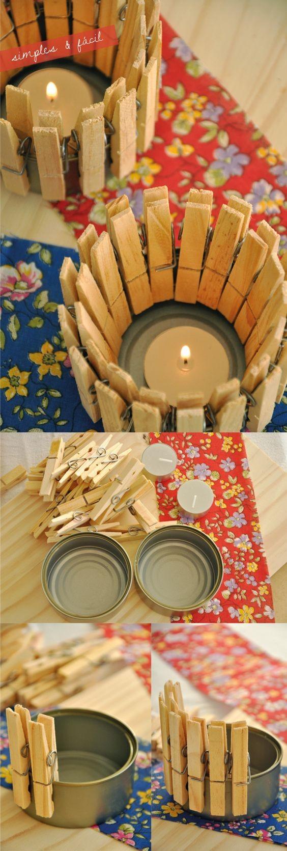Luminárias de latinha (Foto: Pinterest)