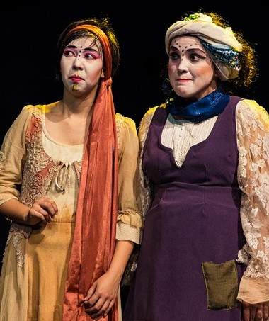 teatro infantil fala de histórias que o vento traz 2 (Foto: Ninguém dos Campos)