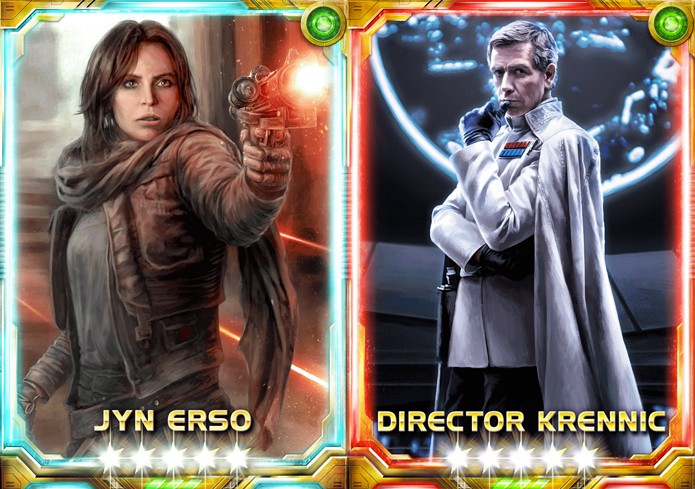 Personagens de Rogue One chegam a Star Wars de cartas (Foto: Divulgação/Konami)
