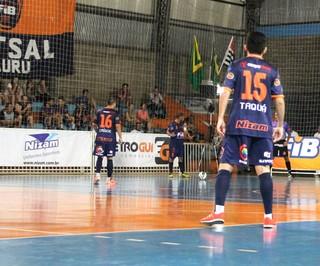 Bauru Futsal x Jacareí, Liga Paulista de Futsal, LPF (Foto: Rafael Peloso / A.A. FIB)